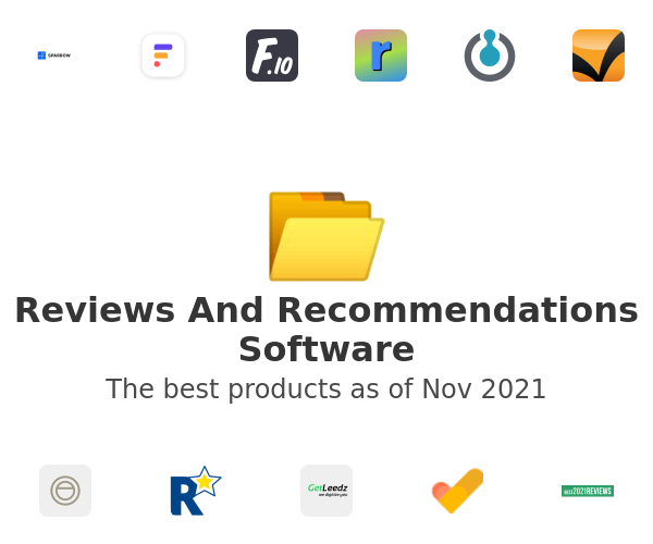 Reviews And Recommendations Software