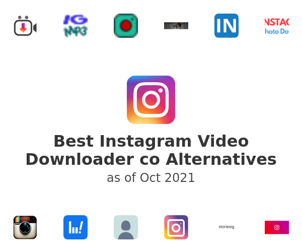 Best Instagram Video Downloader co Alternatives