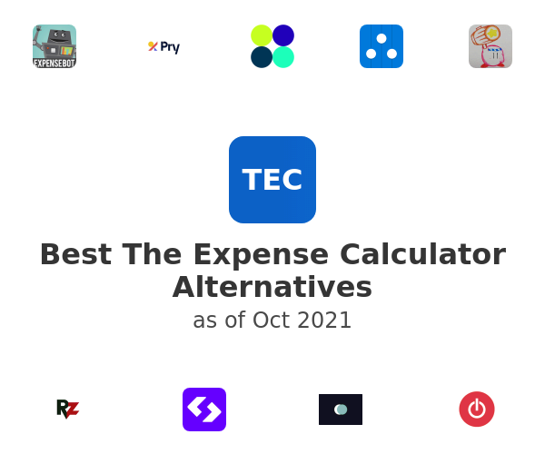 Best The Expense Calculator Alternatives