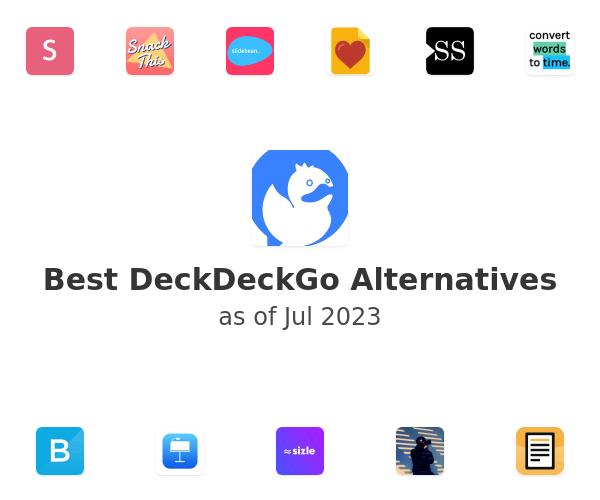 Best DeckDeckGo Alternatives