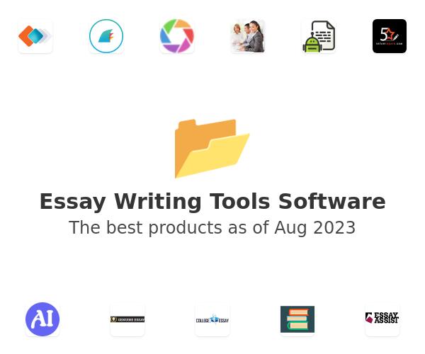 Essay Writing Tools Software