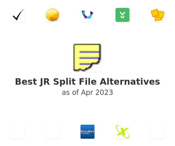 Best JR Split File Alternatives