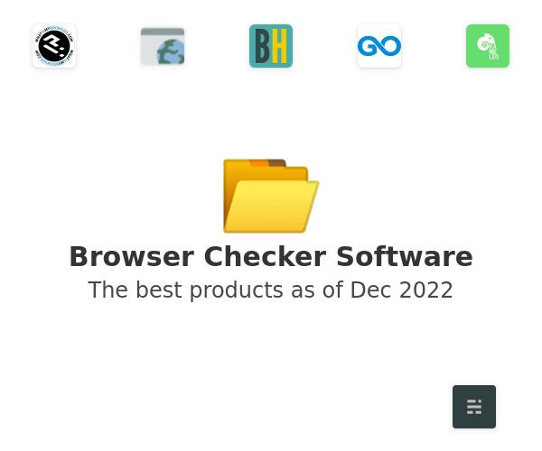 Browser Checker Software