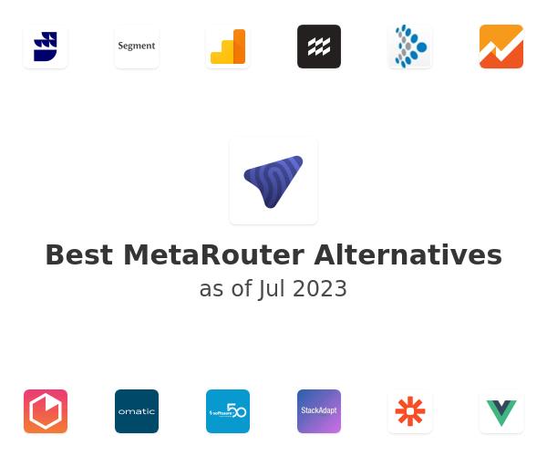 Best MetaRouter Alternatives