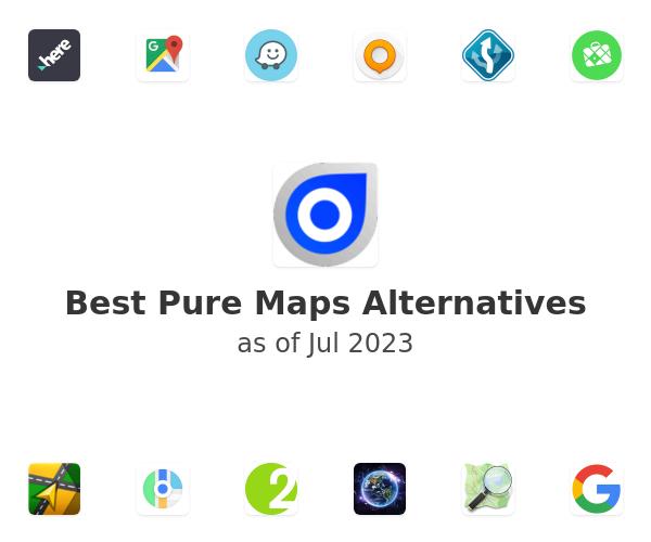 Best Pure Maps Alternatives