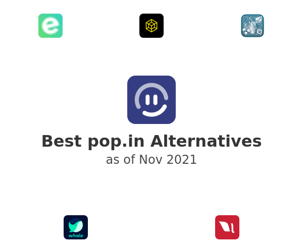 Best pop.in Alternatives