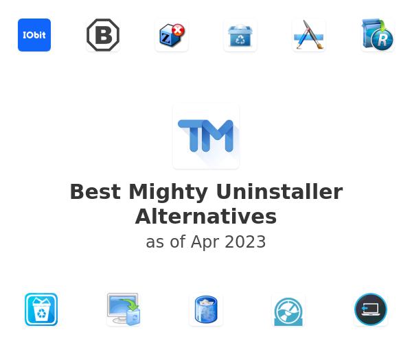 Best Mighty Uninstaller Alternatives