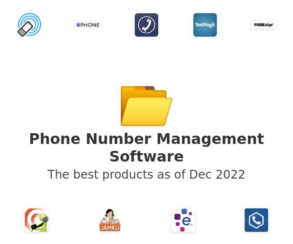 Phone Number Management Software