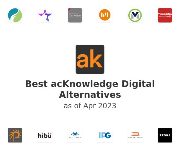 Best acKnowledge Digital Alternatives