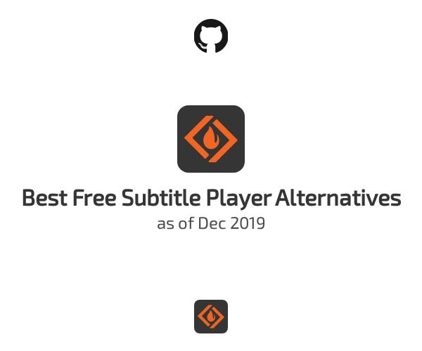 Best Free Subtitle Player Alternatives