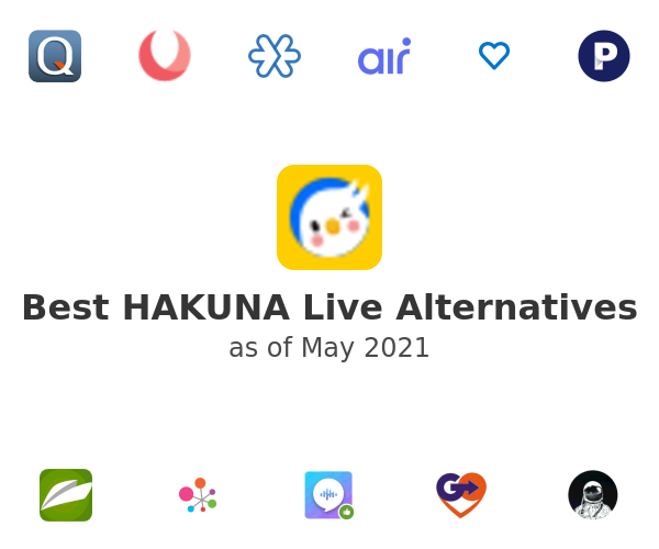 Best HAKUNA Live Alternatives
