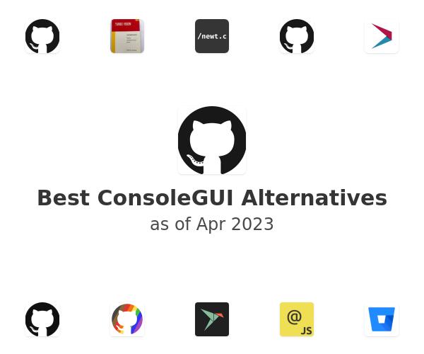Best ConsoleGUI Alternatives