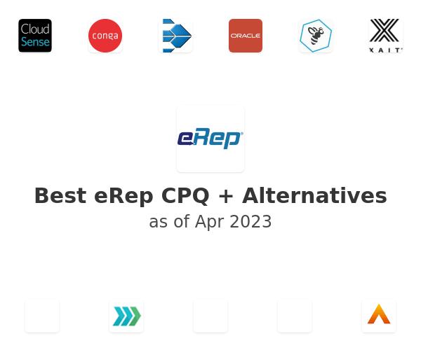 Best eRep CPQ + Alternatives