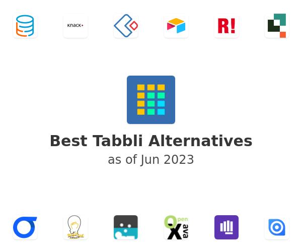 Best Tabbli Alternatives