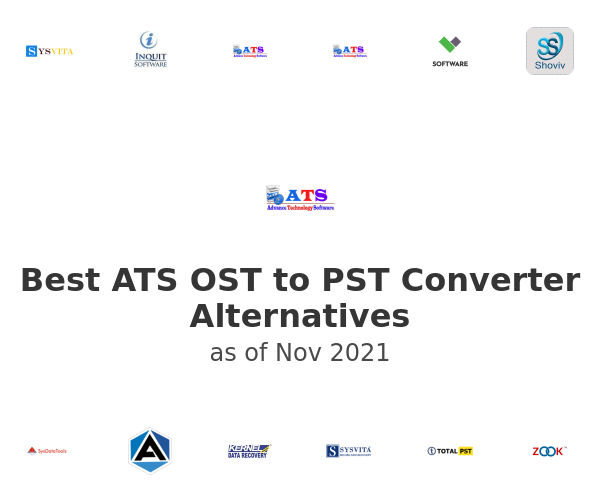 Best ATS OST to PST Converter Alternatives