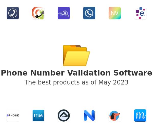 Phone Number Validation Software