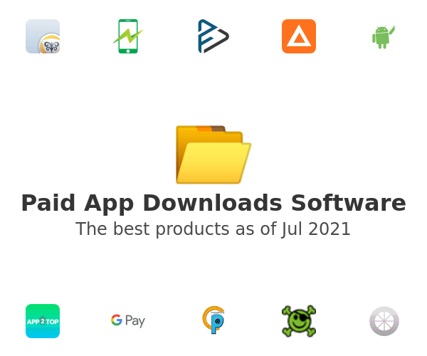 Paid App Downloads Software