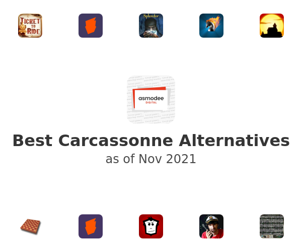 Best Carcassonne Alternatives