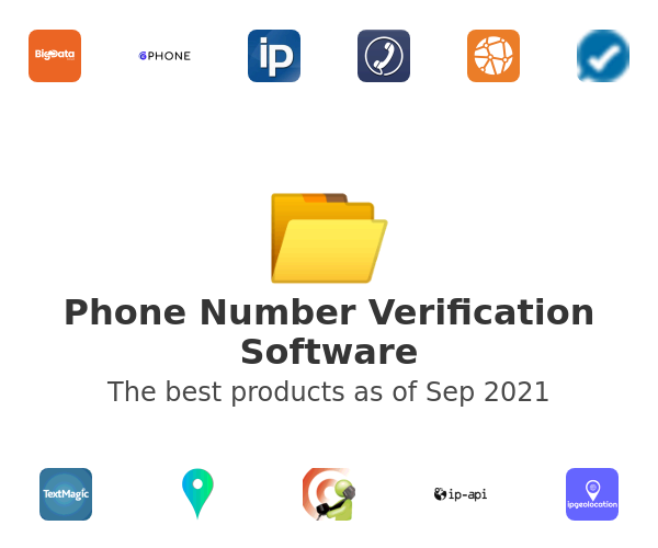 Phone Number Verification Software