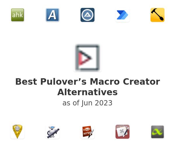 Best Pulover's Macro Creator Alternatives