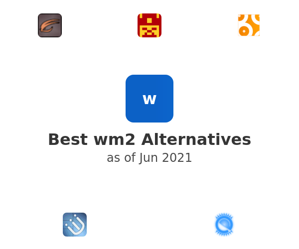 Best wm2 Alternatives