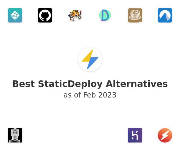 Best StaticDeploy Alternatives
