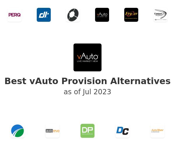 Best vAuto Provision Alternatives