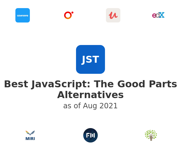 Best JavaScript: The Good Parts Alternatives