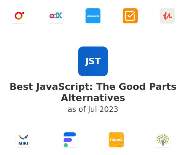Best JavaScript: The Good Parts Alternatives