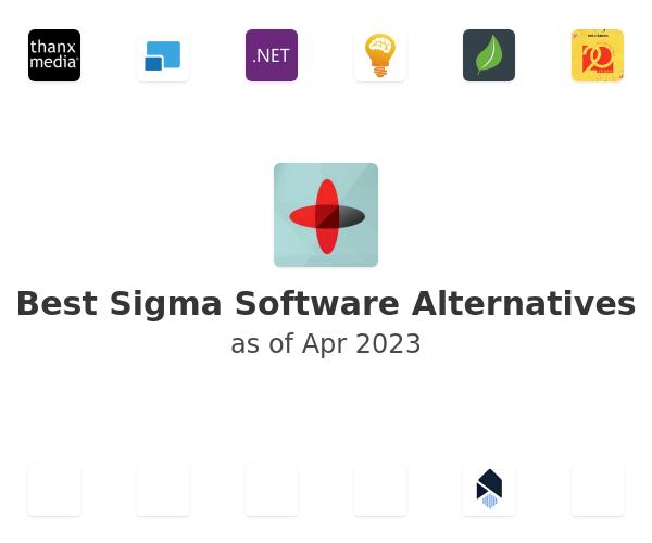 Best Sigma Software Alternatives