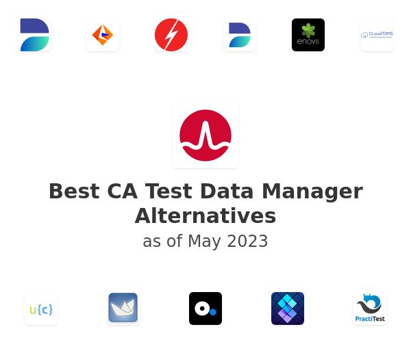 Best CA Test Data Manager Alternatives