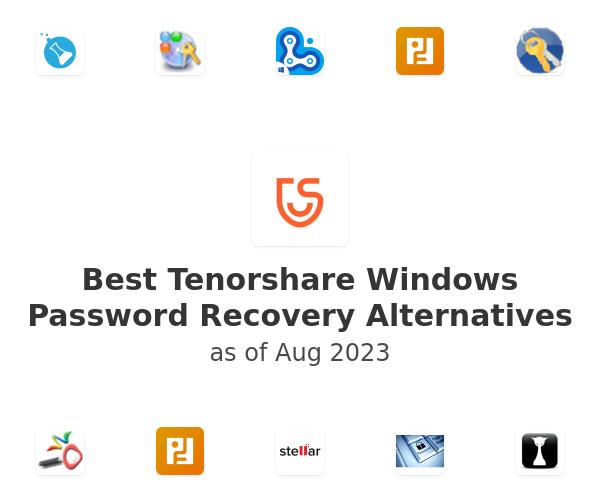 Best Tenorshare Windows Password Recovery Alternatives