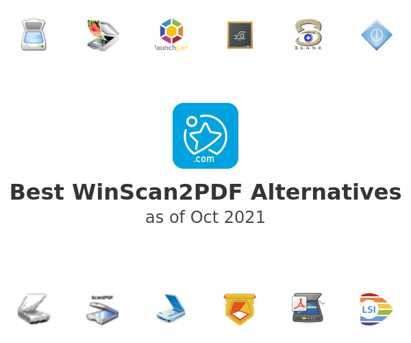 Best WinScan2PDF Alternatives