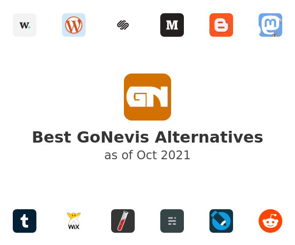 Best GoNevis Alternatives