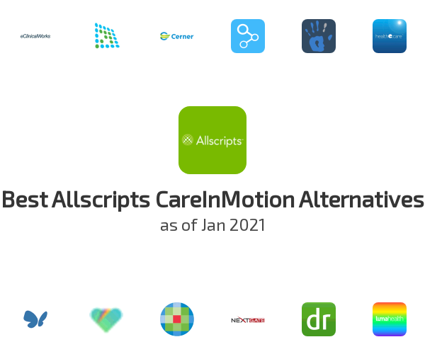 Best Allscripts CareInMotion Alternatives