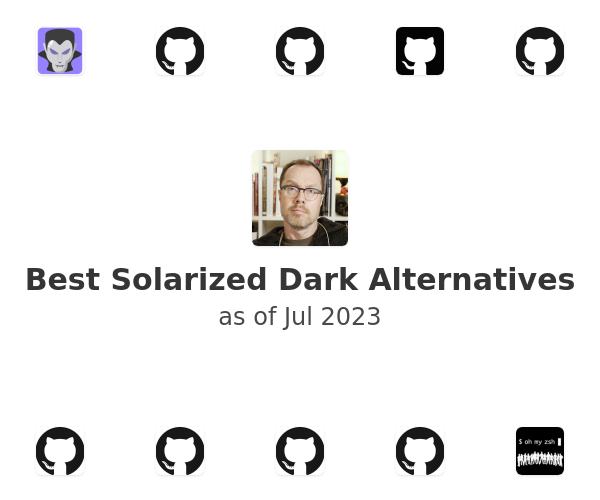 Best Solarized Dark Alternatives