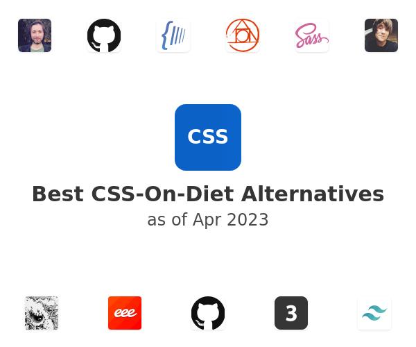 Best CSS-On-Diet Alternatives
