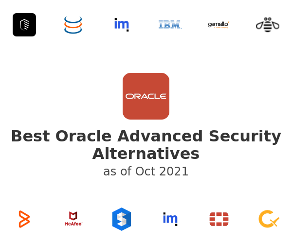 Best Oracle Advanced Security Alternatives