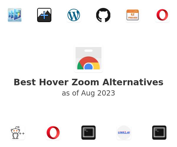 Best Hover Zoom Alternatives