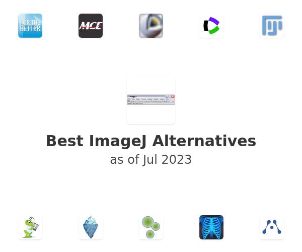 Best ImageJ Alternatives