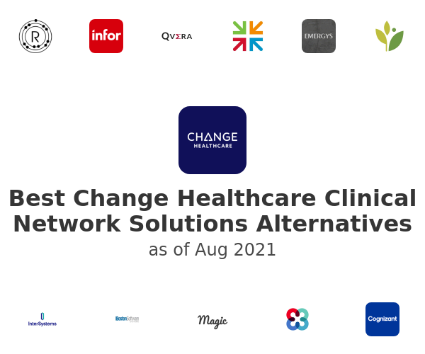 Best Change Healthcare Clinical Network Solutions Alternatives