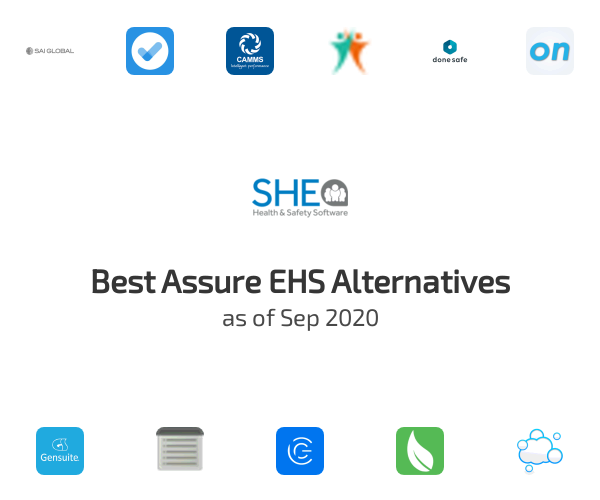 Best Assure EHS Alternatives