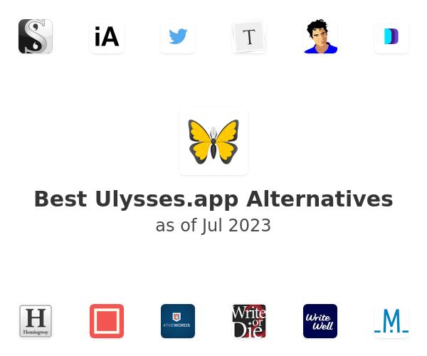 Best Ulysses.app Alternatives