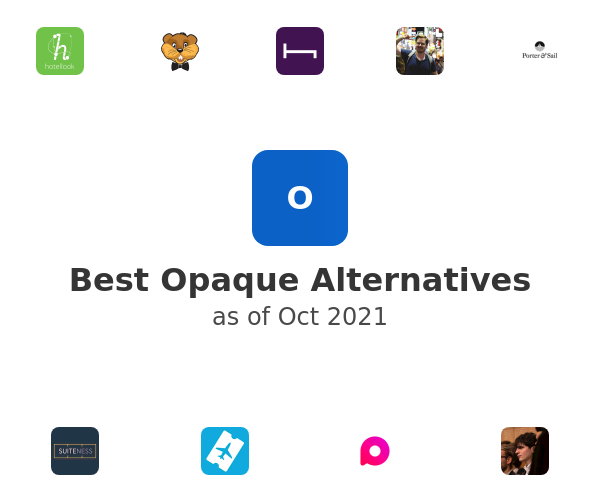 Best Opaque Alternatives