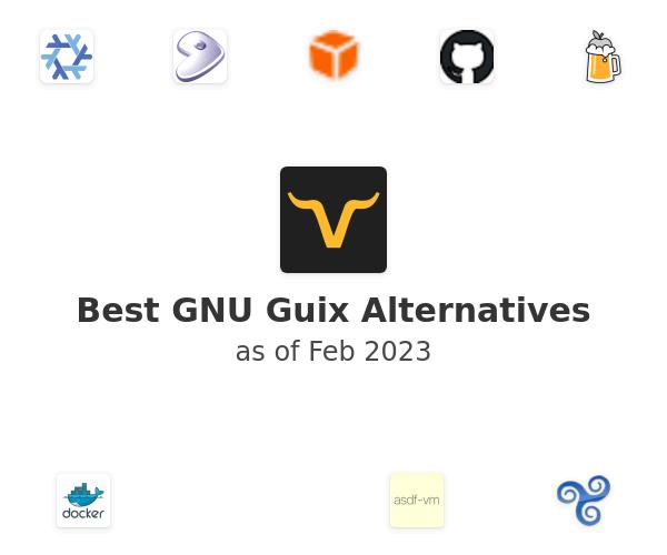 Best GNU Guix Alternatives