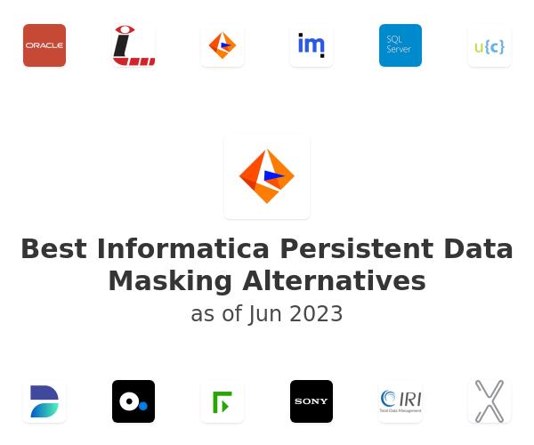 Best Informatica Persistent Data Masking Alternatives