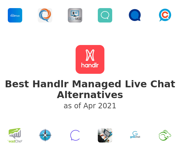 Best Handlr Managed Live Chat Alternatives