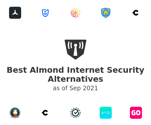 Best Almond Internet Security Alternatives
