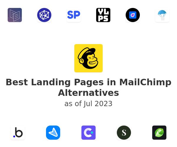 Best Landing Pages in MailChimp Alternatives