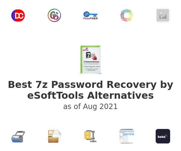 Best 7z Password Recovery by eSoftTools Alternatives